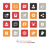 Social media icons | echo series