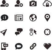 Social Media Icons | Mono Series