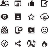 Social Media Icons   Mono Series