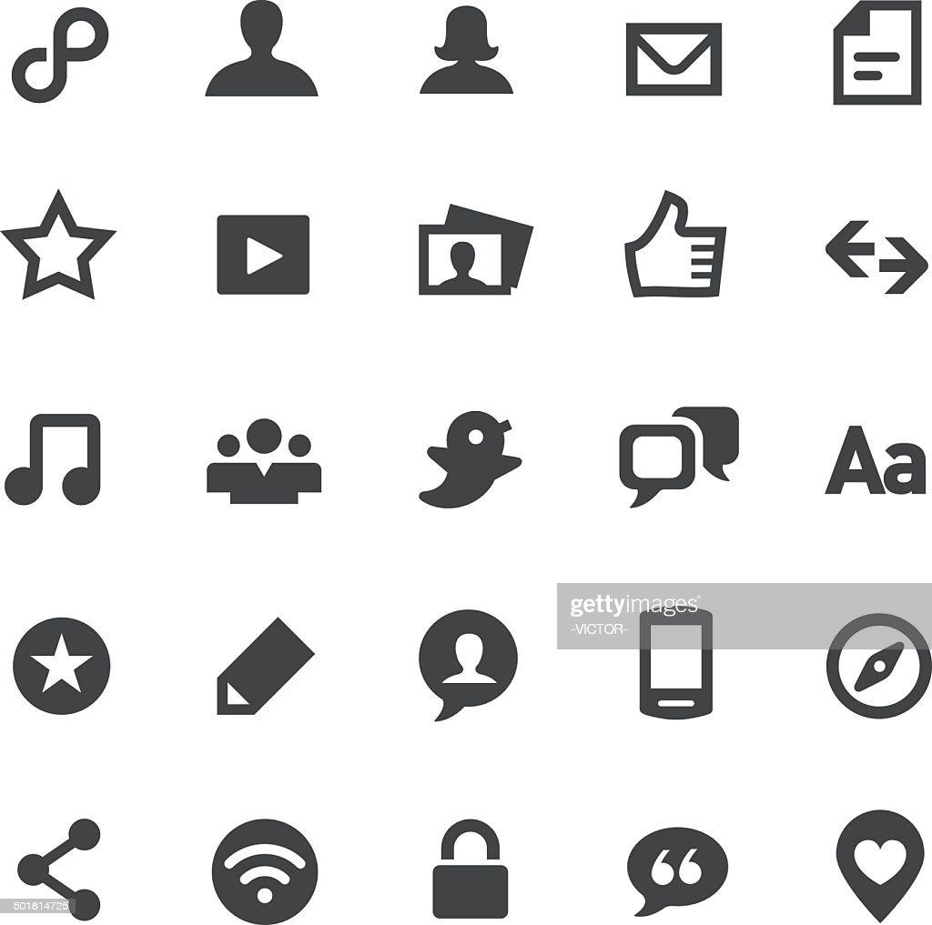 Social Media Icons - Smart Series