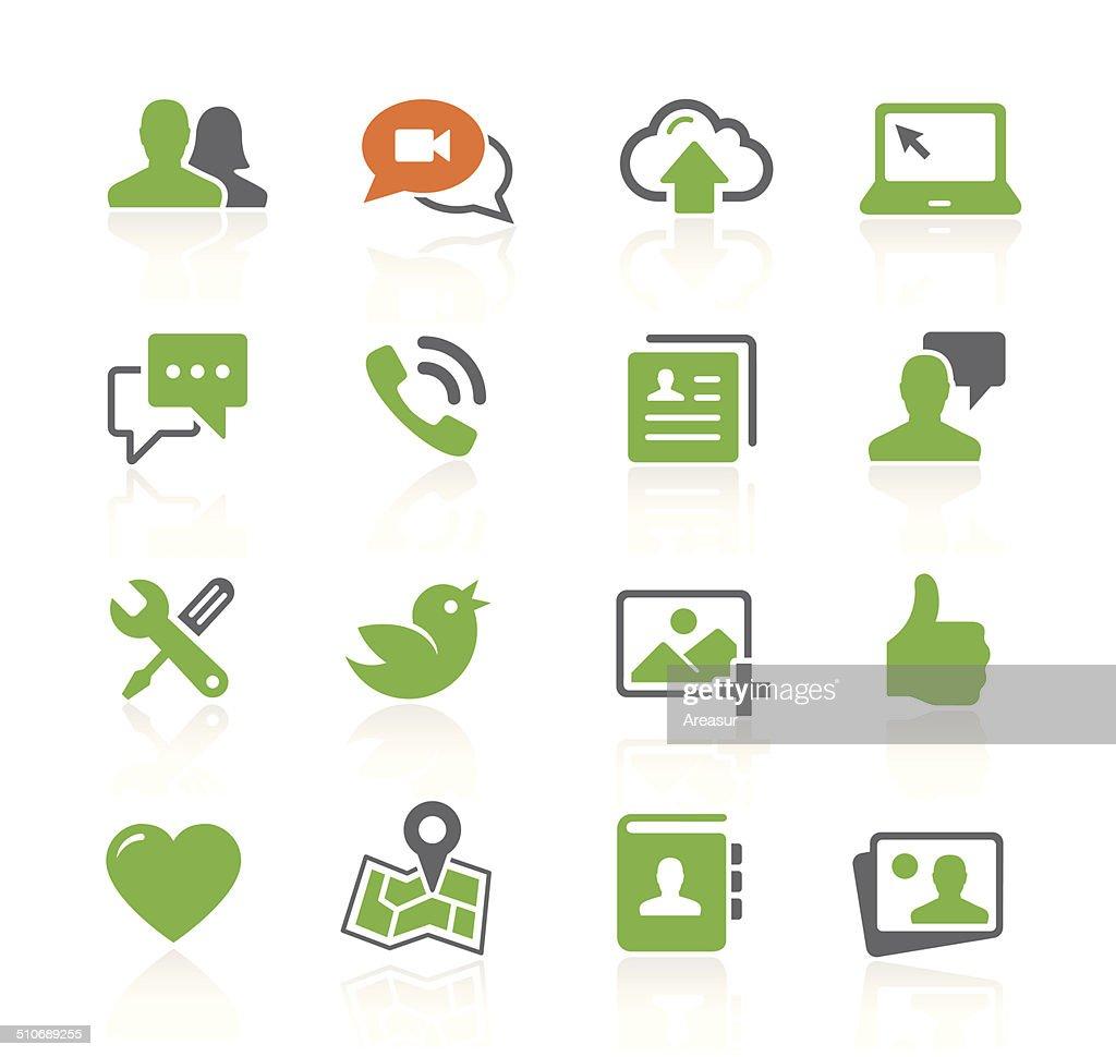 Social Media Icons | Spring Series