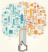 Social Media Like Design