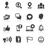 Social Media & Messaging Icons.