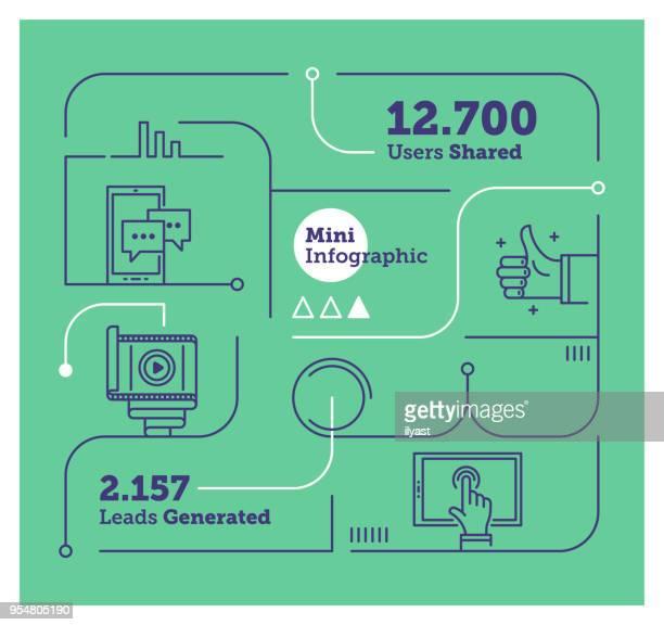 Social Media Mini Infographic