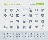 Social Media & People - Granite Icons