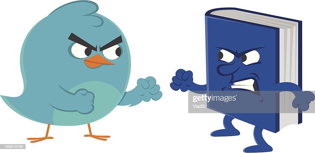 Social media rivalry