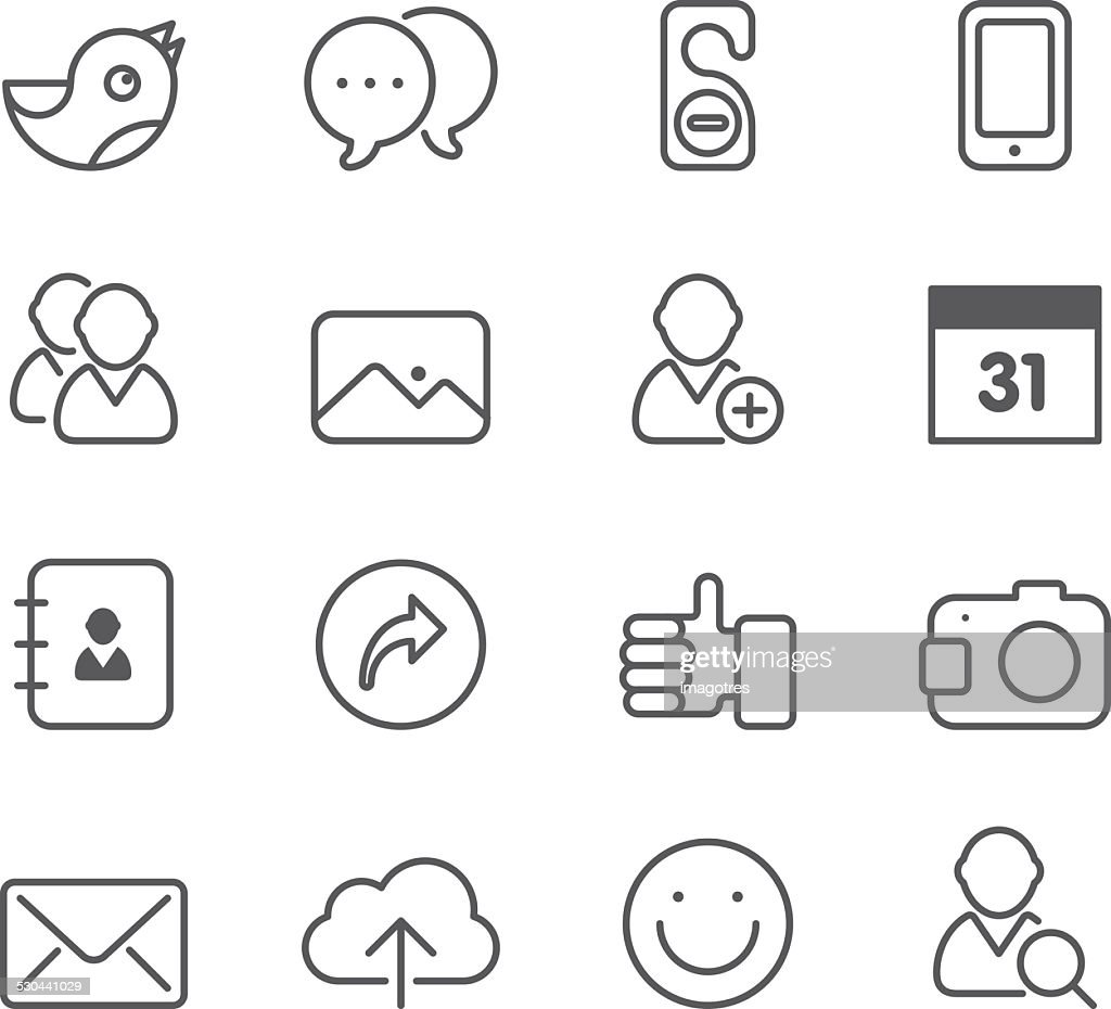 Social Media - Simple Icons