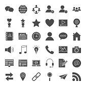 Social Media Solid Web Icons