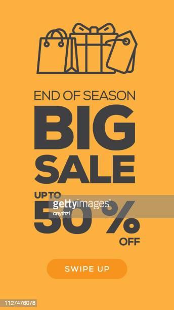 Social Media Stories Page Sale Banner Background-BIG SALE