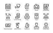Social Media Strategy Vector Icons