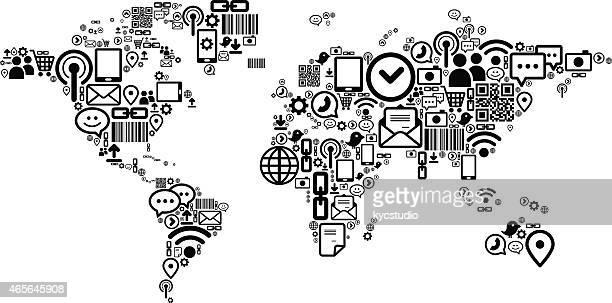 Social-Media-Welt