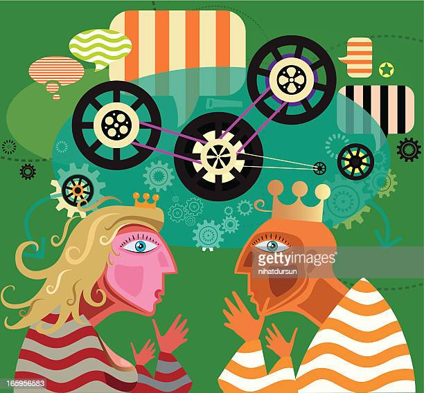social memory - actor stock illustrations