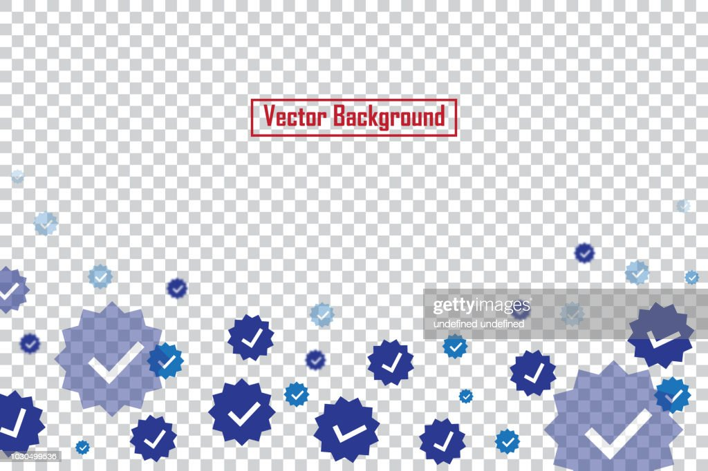 Social nets Ok buttons isolated on transparent background. Ok buttons for live stream video chat likes falling background vector design template