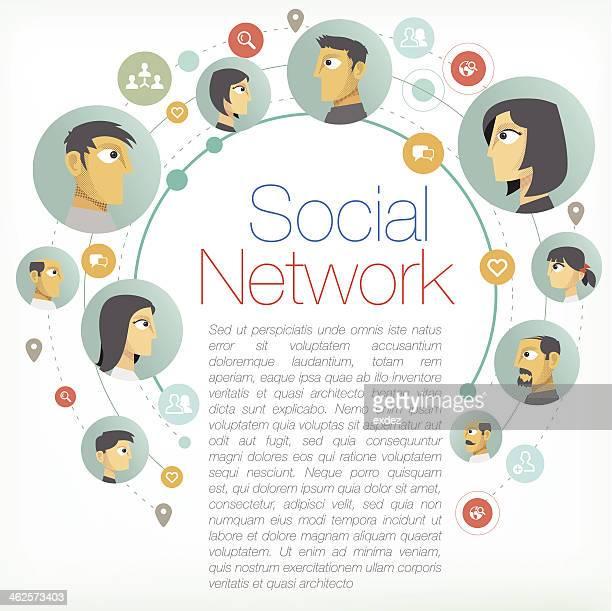 Social Network Copyspace