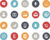Social Network Icons // Classics