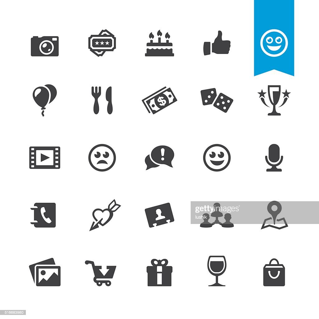 Social Networking & Entertainment sign and icon