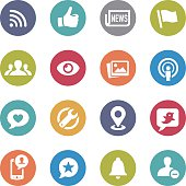 Social Networking Icons - Circle Series