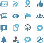 Social Networking Icons - Conc Series