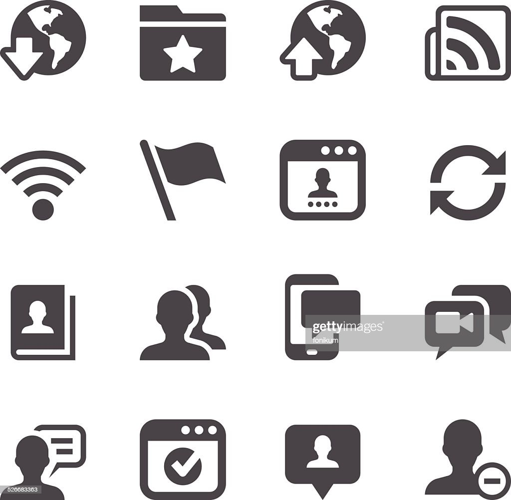 Social Networking Icons