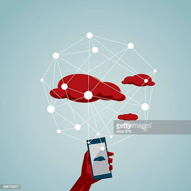 social networking, - access control stock illustrations, clip art, cartoons, & icons