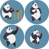 Social networks addicted Panda