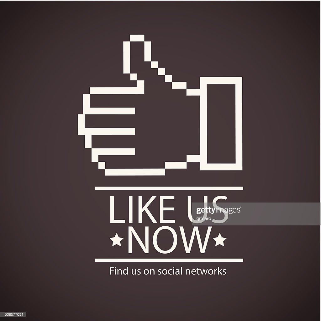 Les réseaux sociaux : Clipart vectoriel