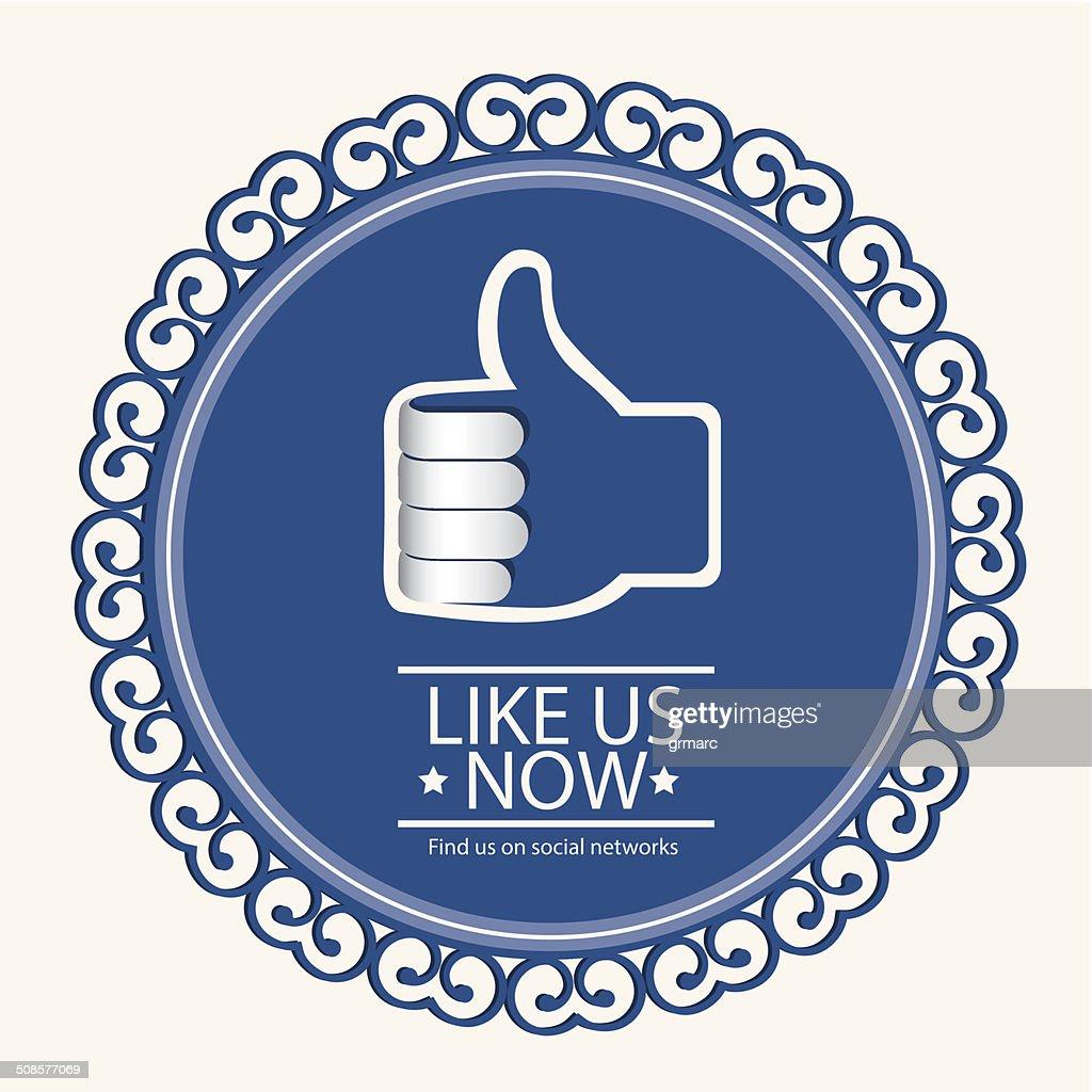 social networks : Vektorgrafik