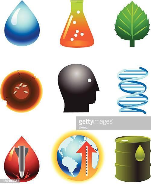 ilustrações, clipart, desenhos animados e ícones de questões de política social - biologia