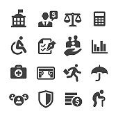 Social Security Icons - Acme Series