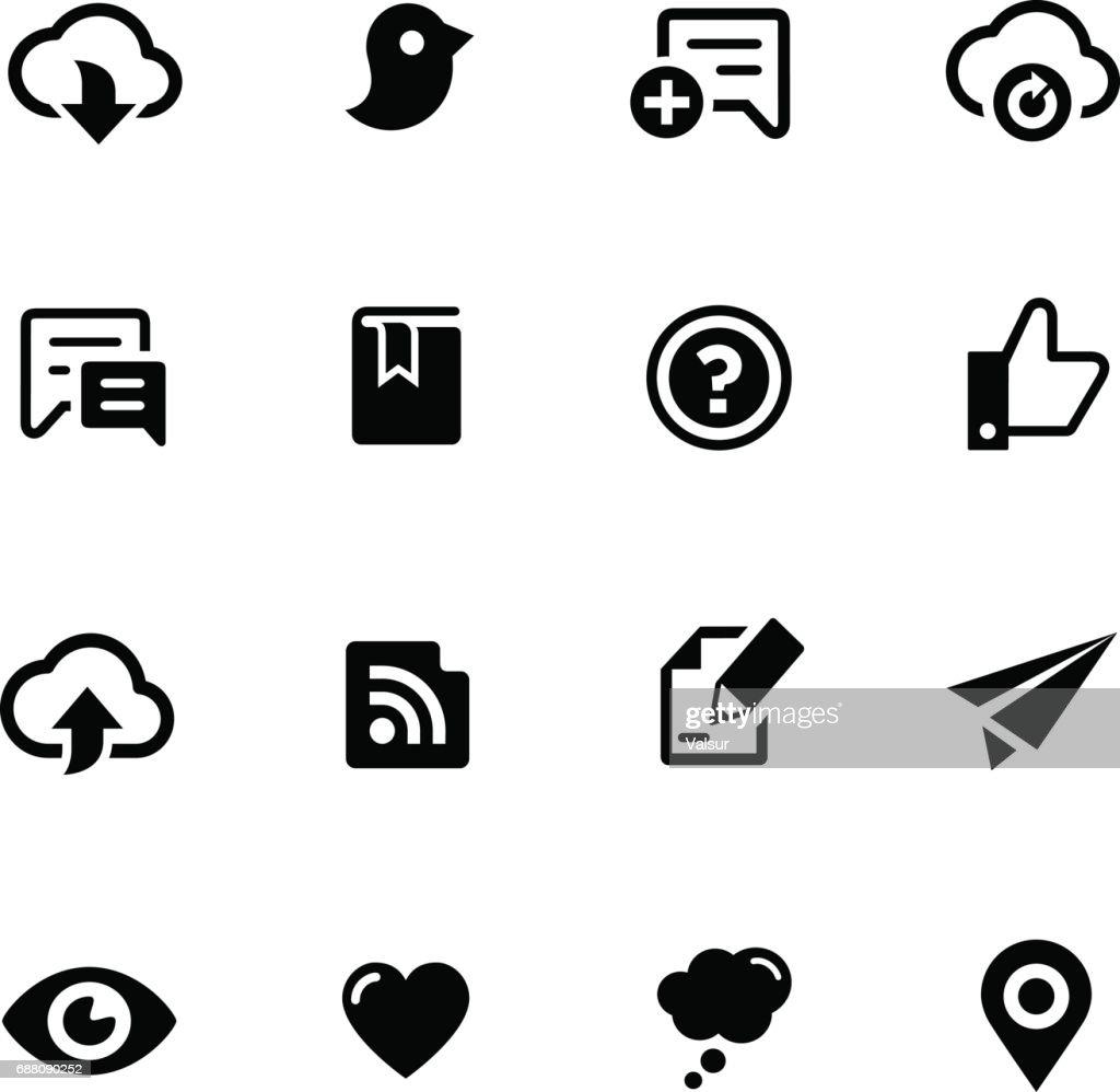 Social Sharing // Black Series