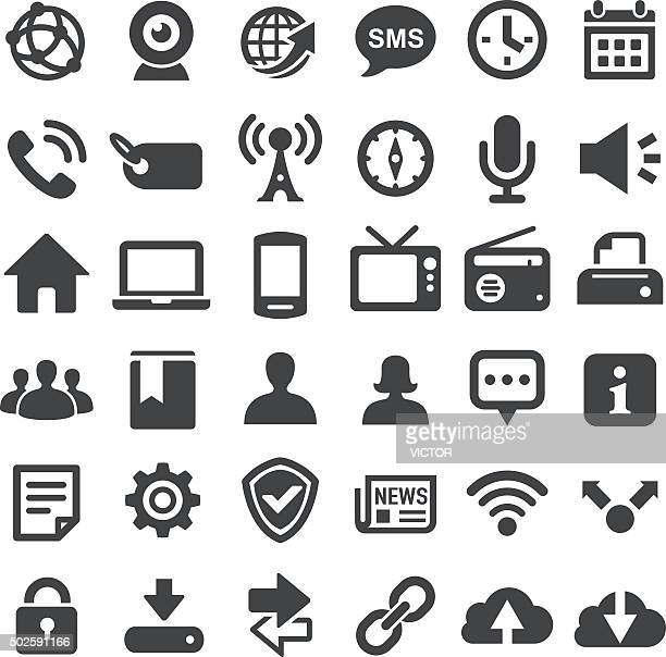 Social Technology Icons - Big Series