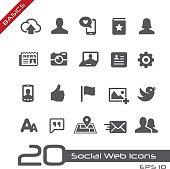 Social Web Icons // Basics