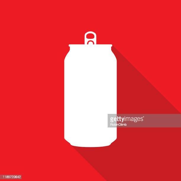 ソーダ缶アイコン - 米メキシコ湾沿岸点のイラスト素材/クリップアート素材/マンガ素材/アイコン素材