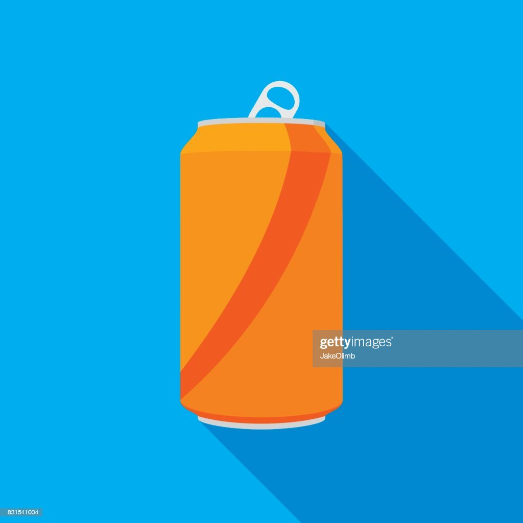 Soda Can Icon : stock illustration