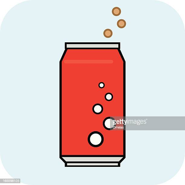 soda pop can - drink can stock illustrations, clip art, cartoons, & icons