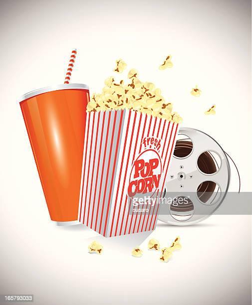 Soda Popcorn Film Reel
