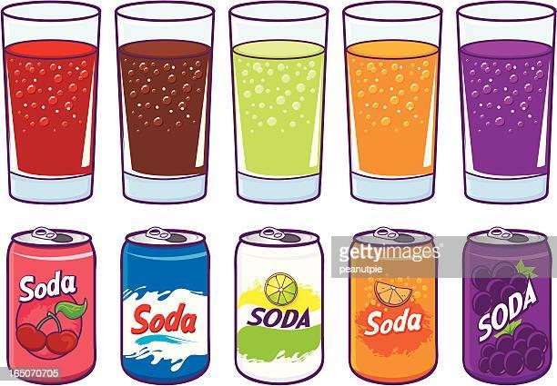 soda - soda stock illustrations