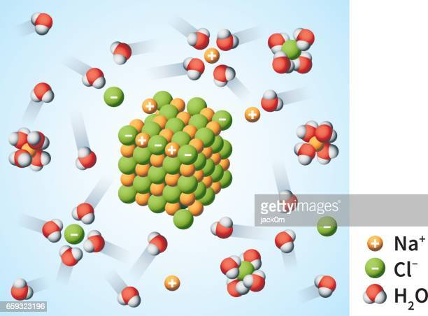 Sodium Chloride Dissociation