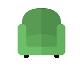 sofa furniture property flat icon illustration vector,sofa furniture property flat icon illustration vector