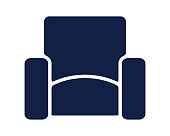 sofa icon glyph