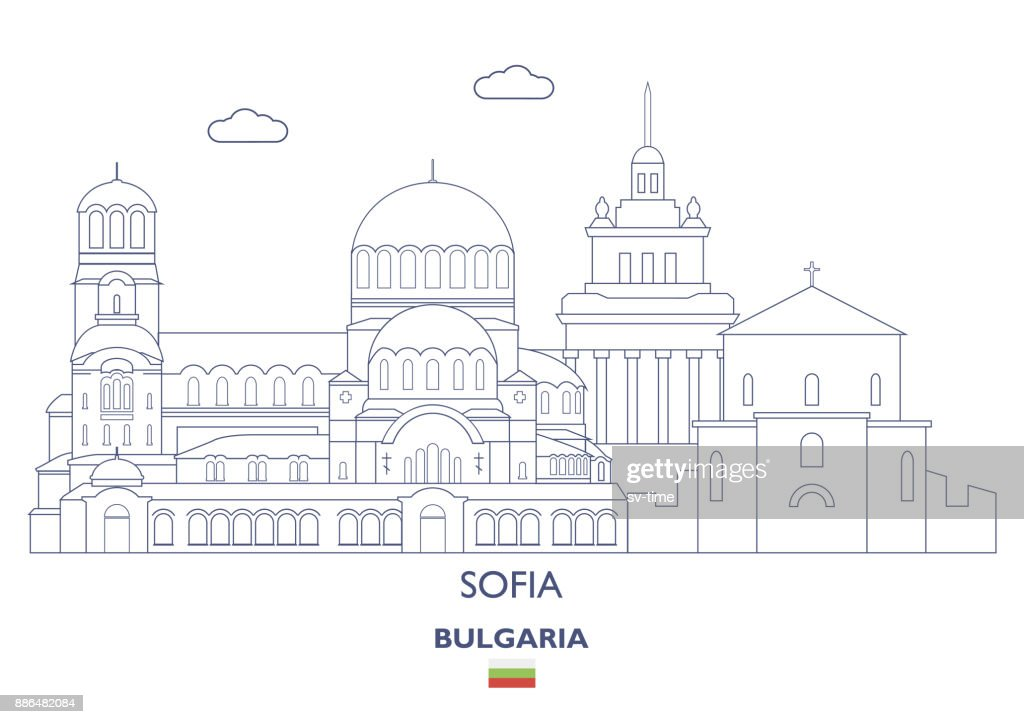 Sofia City Skyline, Bulgaria