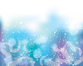 soft color background of sparkles and feathers