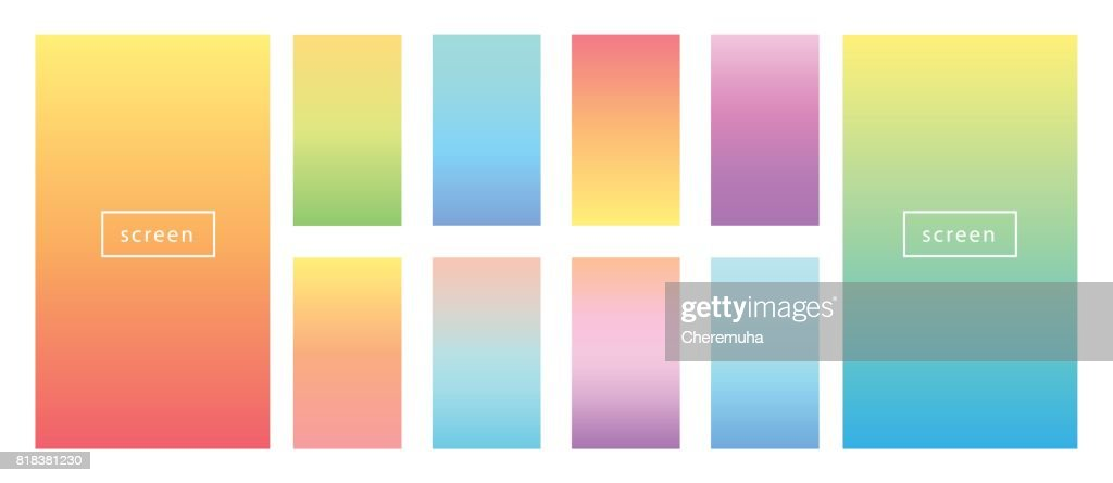 Soft color background. Soft color pastel gradients.