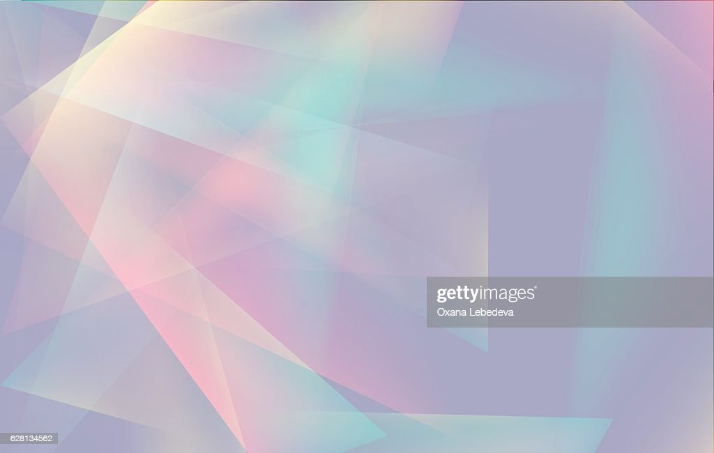 Soft colored abstract lowpoly background with copy-space