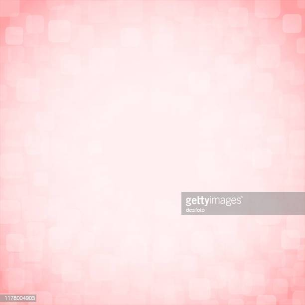 soft light pink, rose and white coloured bling square backgrounds stock vector illustration squared pattern with blinds. xmas winter white and pink coloured stock background - blink stock illustrations, clip art, cartoons, & icons