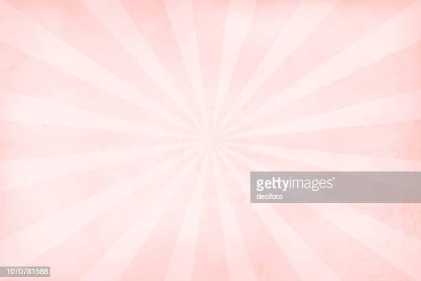 柔らかいピンクとローズ色グランジ テクスチャ サンバースト ベクター クリスマスの背景-横 - 溝になった点のイラスト素材/クリップアート素材/マンガ素材/アイコン素材