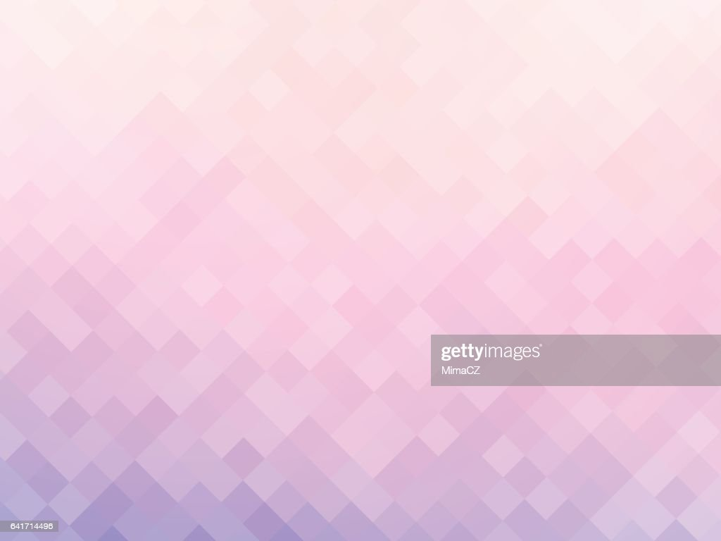 soft pink squares mosaic background
