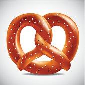 Soft pretzel.
