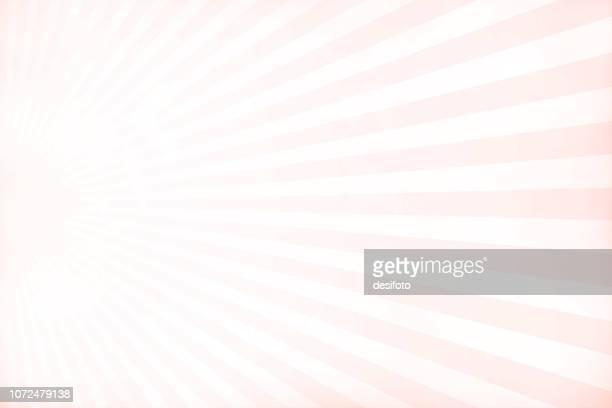 illustrazioni stock, clip art, cartoni animati e icone di tendenza di morbida grunge color rosa e bianco sunburst illustrazione vettoriale strutturata di uno sfondo natalizio- orizzontale - rosa pallido