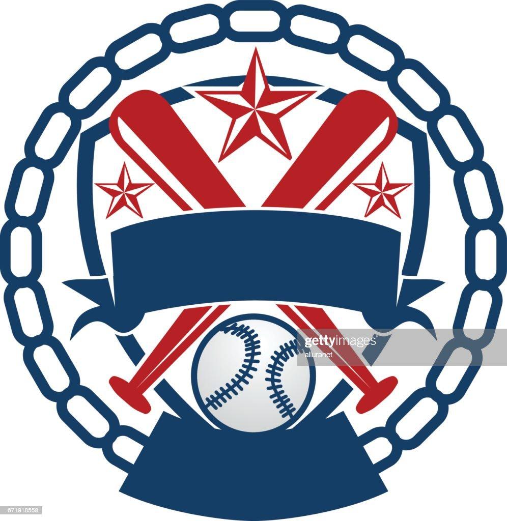 Softball Baseball Vorlage Vektorgrafik | Getty Images